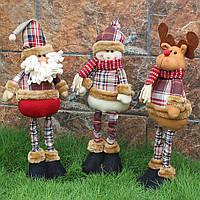 Новый Санта-Клаус Гибкий снеговик-олень Кукла Новогоднее украшение Дерево Украшения Кулон Лучший подарок