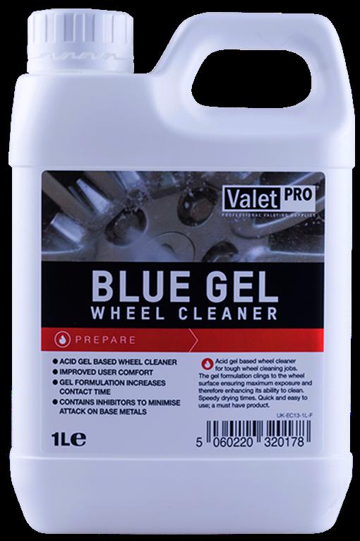 Valetpro Blue Gel Wheel Cleaner кислотный гелеобразный очиститель дисков