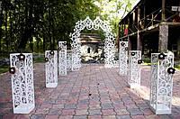 Декор для свадебной церемонии