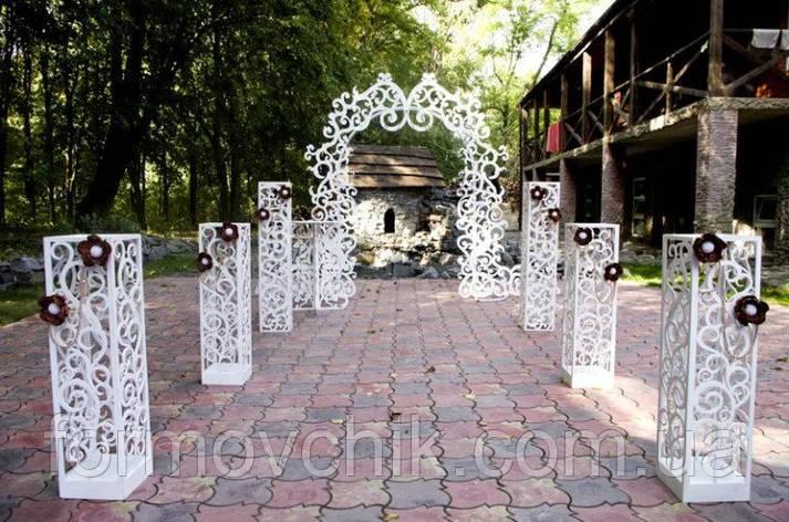 Декор для свадебной церемонии, фото 2