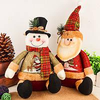 Новогодние украшения Искусственный олень Кукла Фланель Рождественские подарки Игрушки Новогодние украшения для дома