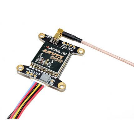 AURORA RVTX600 5.8G 48CH 25/200/600mW Переключаемый FPV Передатчик 7-24V 30.5x30.5mm, фото 2