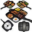 Сковородка универсальная Magic Pan Innovative Cookware Panci 5 іn 1, Антипригарная гриль сковорода 5 в 1, фото 4