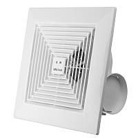 KHG-16B 38W 8 дюймов Выпускной вентилятор Потолочный настенный вытяжной вентилятор для домашней вентиляции Ванная комната Гараж