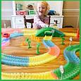 Magic Tracks гнущий светящийся трек 165 деталей, Меджик трек гоночная трасса, конструктор - подарок для детей, фото 5