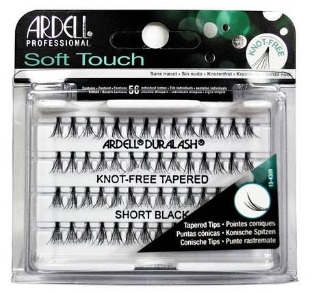 Пучковые ресницы с заостренными кончиками Ardell™ Soft Touch Individuals Short - 8 мм., фото 2
