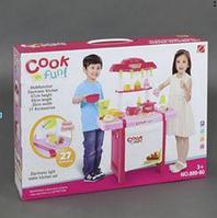 Детская кухня 889-90, свет, звук, 27 деталей.