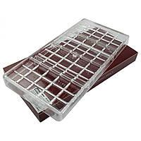 Форма для конфет поликарбонат Плитка шоколада большая