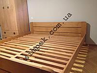 Кровать для спальни деревянная из массива Ольхи / Ясеня