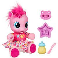 Интерактивная пони Пинки Пай Учимся ходить Pinkie pie на русском языке