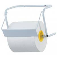 Настенный держатель бумажных рулонных полотенец Mar Plast (Италия) MAXI INOX WALL MOUNTED