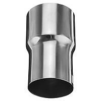 От 60 мм до 51 мм.Стандартный переходник для выхлопных газов стандартной конструкции Коннектор Труба Трубка
