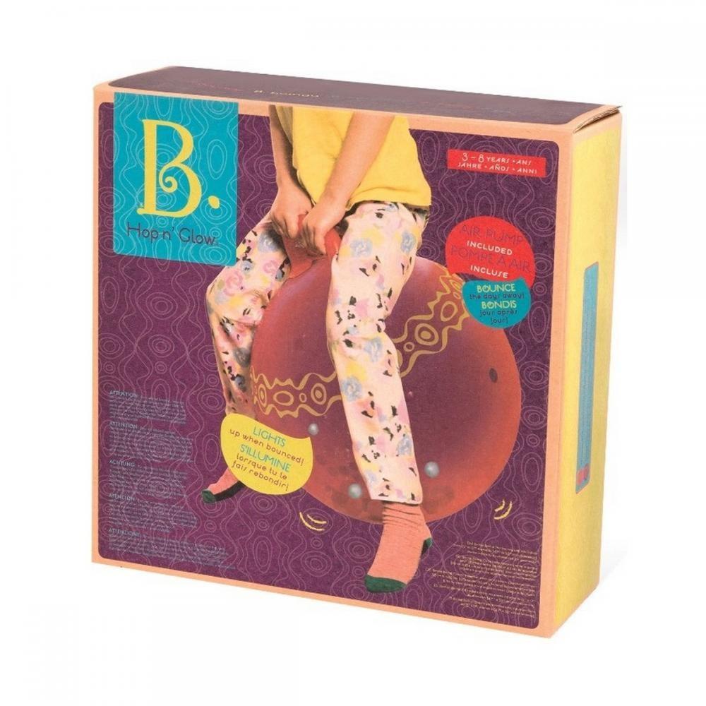 battat Прыгун Battat Сверкающие мячики с насосом, томатный (BX1510Z) 9926