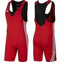 Мужское борцовское трико Adidas Base Wrestler red