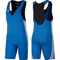 Мужское трико для борьбы Adidas Base Wrestler blue