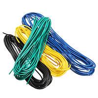 5 метров / лот 300V Super Flexible 22AWG Медь Изоляция из ПВХ Провод LED Электрический кабель UL Соответствует RoHS