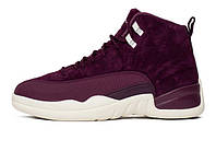 """Женские баскетбольные кроссовки Nike Air Jordan 12 Retro (BG) """"Bordeaux"""""""