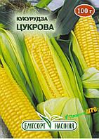 """Семена кукурузы Сахарная, среднеспелая, 100 г, """"Елiтсортнасiння"""", Украина"""