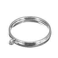 10шт 25мм серебристый Кулон Лотки Безель Кабошон Установка ювелирных изделий Пустой круглый Кулон