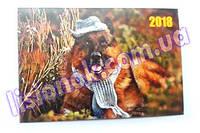 Календарик карманный 2018 год Немецкая овчарка