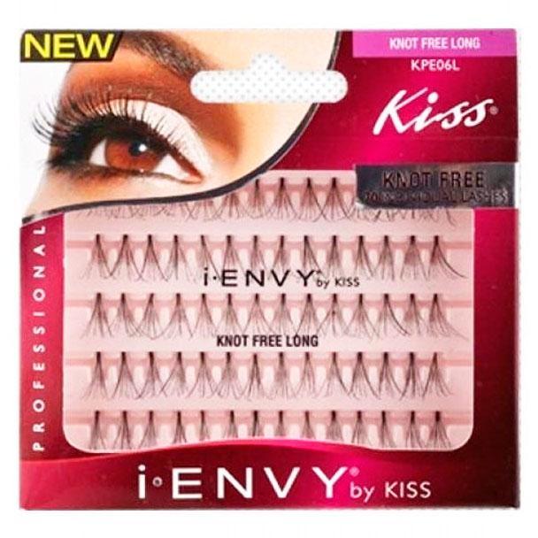 Набор пучковых ресниц i-ENVY by Kiss Individual Knot Free Long - 14 мм.