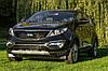 Накладки на передний и задний бампер тюнинг Kia Sportage R, фото 2