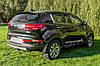 Накладки на передний и задний бампер тюнинг Kia Sportage R, фото 6
