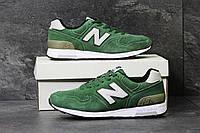 Мужские зимние кроссовки New Balance 1400 зеленные 3816