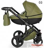 Детская коляска кожаная 2 в 1 VERDI MIRAGE