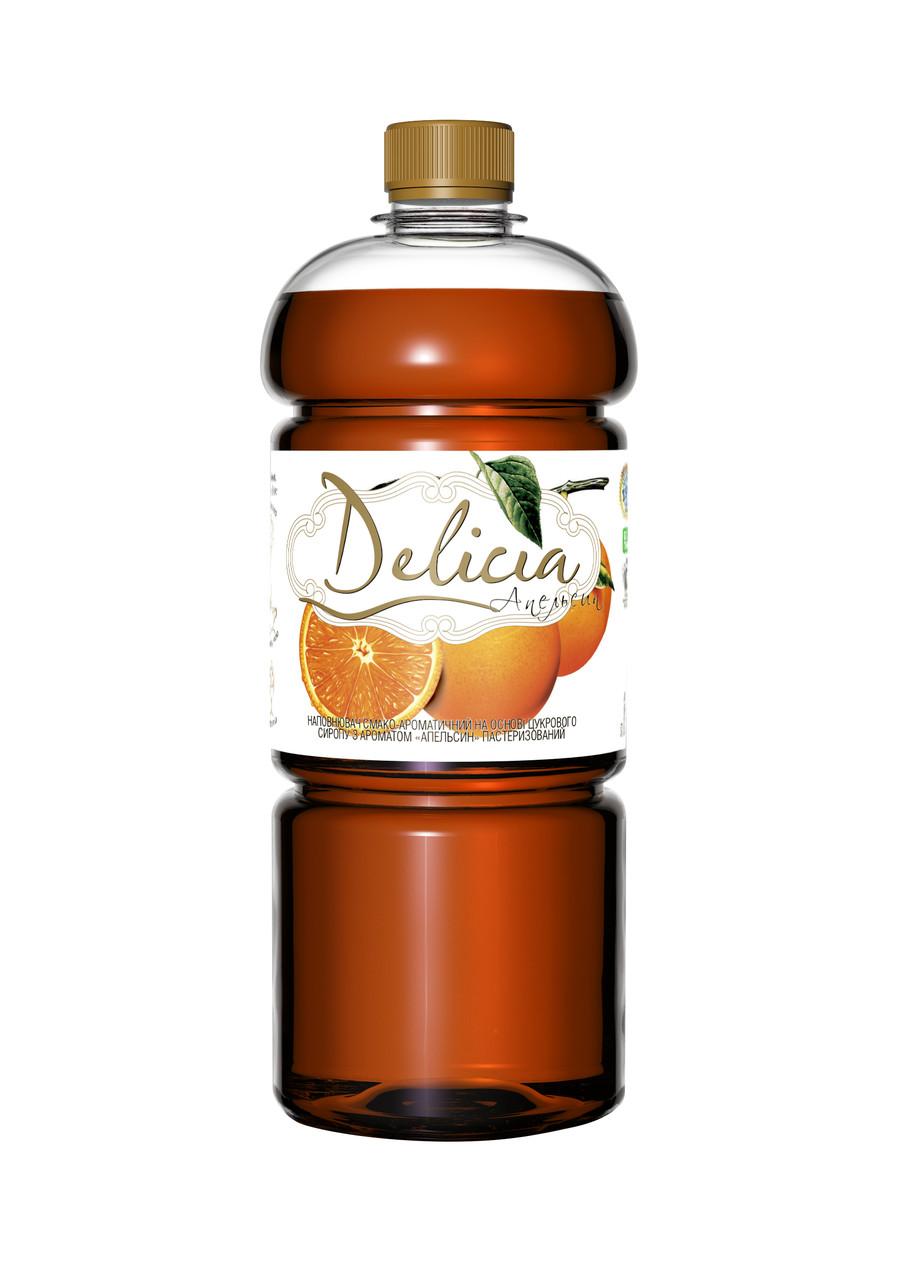 Сироп Апельсин Delicia 1300 г