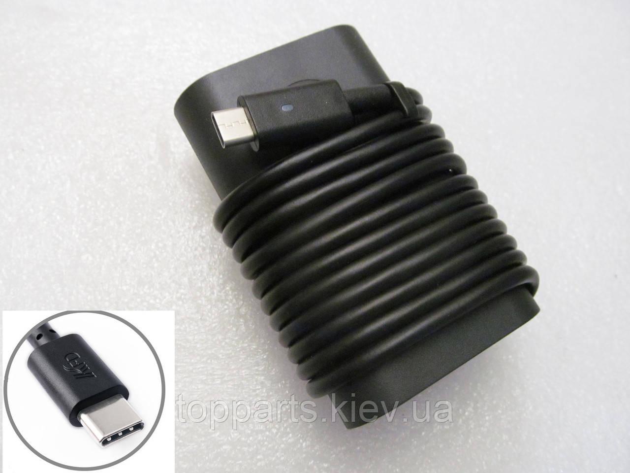 Блок питания Dell 45W LA45NM150 oval-корпус 20V, 2.25A + 5V, 2A, разъе