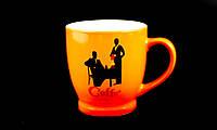 """Кружка Фарфоровая """"Coffee"""" 320мл, фото 1"""