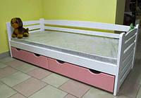 Кровать детская деревянная Карлсон из натурального Бука