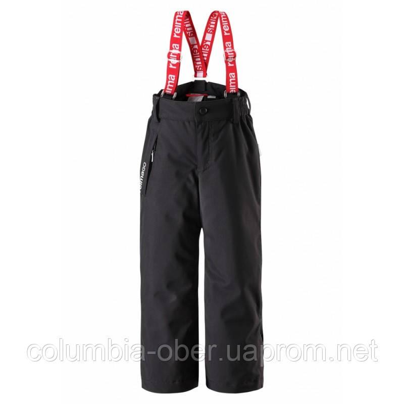 Зимний брюки на подтяжках для девочки Reimatec 522241-9990. Размер 122.