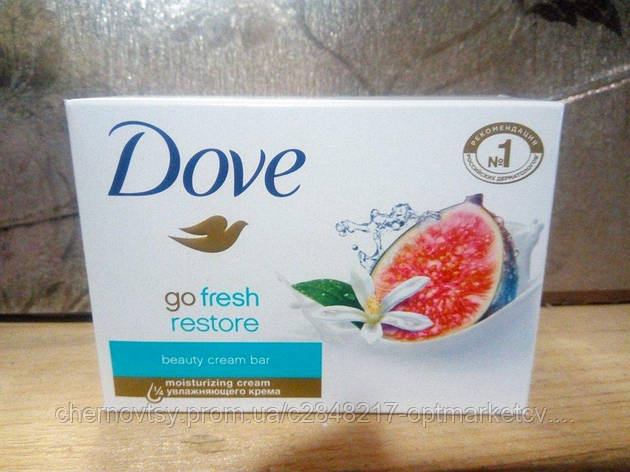 Крем-мыло Dove Инжир и лепестки апельсина 135 г, фото 2