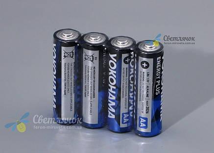Батарейка LR6 1.5V ALKALINE(щелочная) YOKOHAMA, фото 2