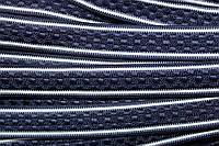 Тесьма цепь 24мм (50м) синий+белый