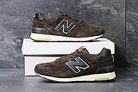 Мужские зимние кроссовки New Balance 1400 коричневые 3814