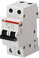 Автоматический выключатель АВВ SH202 2р 63А тип B 6кА