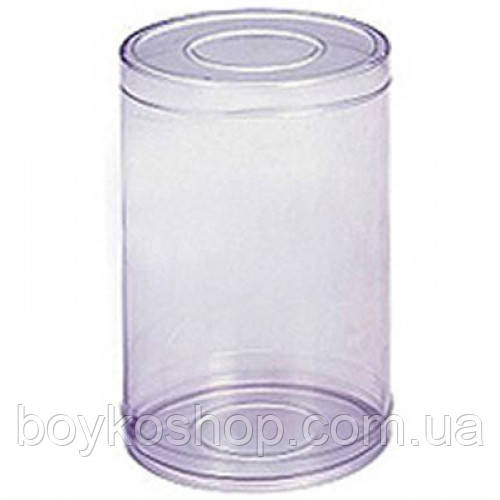 Тубус пластиковый 100*80 мм пищевой