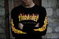 Свитшот Thrasher (Трешер),огняной мужской