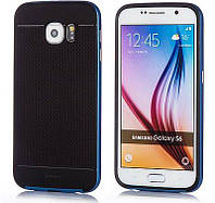 Чехол, бампер iPaky для смартфона Samsung G920 Galaxy S6 (BLUE)