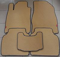 Коврики полимерные в салон Lexus ES-300 2001-2006 (5шт/комп) бежевые EVA