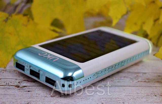 Портативное зарядное устройсто Power Bank UKC 15000mah Solar Glamour