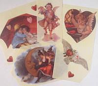 Фрагменты декупажной карты «Valentine's Day»_1