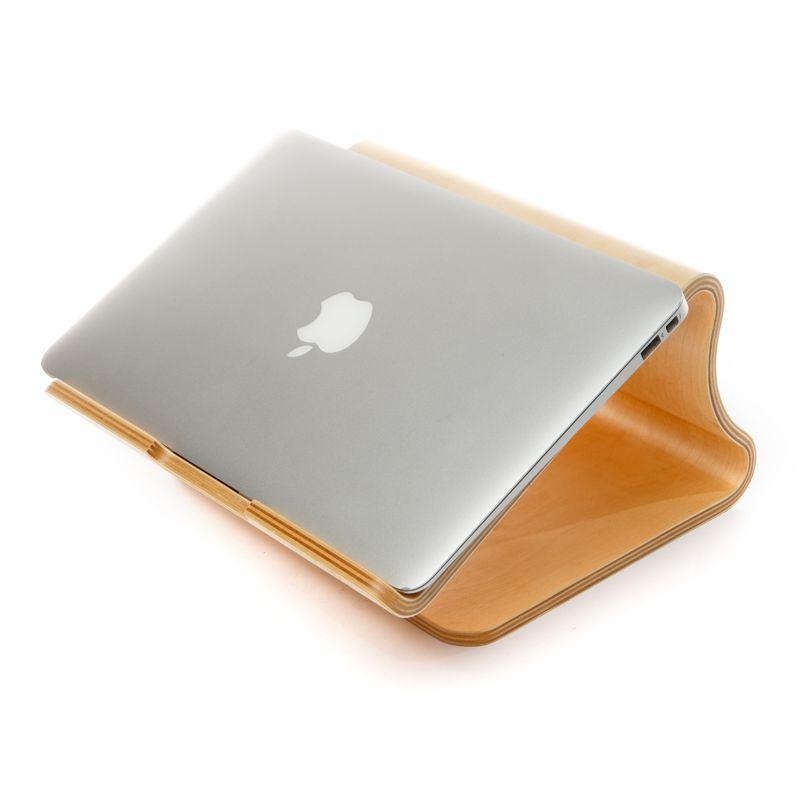 Настольная подставка под ноутбук деревянная