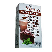 Какао Tesco Cocoa Powder 100г