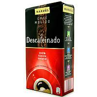 Кофе молотый Marcus Descafeinado 250г
