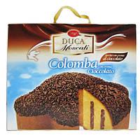 Панеттоне Colomba Duca Moscati cioccolato 750г