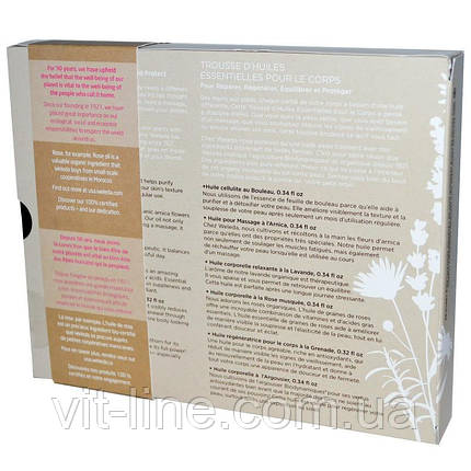 Weleda, Набор базовых масел для тела, 6 баночек , фото 2